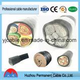 Yjv/Yjlv, Yjv22, Yjlv22, Kabel van de ElektroMacht van de Kern 4 Aluminum/Copper de XLPE Geïsoleerde, Samengestelde Kern, Spoorweg