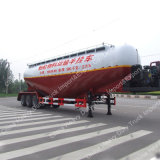 3 Eixo 30t Semi-reboque de tanque / tanque para transporte de granéis em massa