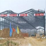 Construction légère préfabriquée d'atelier de structure métallique