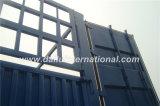 De Ctsm 3-Axles los 40FT alto de la cerca acoplado lateral resistente semi con 3 gradas