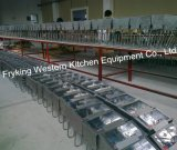 ステンレス鋼の電気概要の深いフライヤーの温度調整