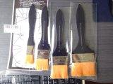 Nylon Negro de pelo de la manija del cepillo del arte para la herramienta de pintura / cepillo de mano