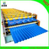 Rodillo de alta velocidad de la capa doble del azulejo de azotea de Dixin que forma la máquina