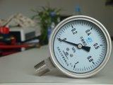 Edelstahl-Aufbau-Manometer Soem-3inch 75mm passen Reichweite an