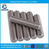 Aço inoxidável Rod rosqueado Short de DIN976 Ss304 A2-70, parafusos curtos do parafuso prisioneiro