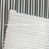 Ottomano C/P/N/Sp 71/17/9/3, 260GSM, tessuto di lavoro a maglia per l'indumento
