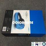 Rectángulo de regalo del embalaje del auricular de la alta calidad con la bandeja del animal doméstico