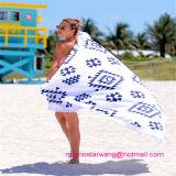 Tovagliolo 100% di spiaggia del cotone con le nappe in commercio all'ingrosso