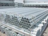 Tubulação de aço galvanizada do andaime dos produtos de aço tubulação material