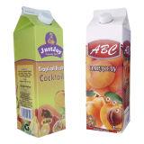 Frucht-Essig-dreieckiger Karton mit Schutzkappen