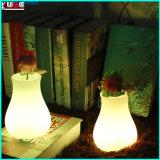 Светильник украшения изменения цвета светильника таблицы светильника таблицы яичка перезаряжаемые