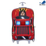 아이들 3D 수화물 EVA 여행 가방 직물 여행 가방