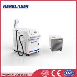 Máquina da limpeza do laser da fibra da oxidação do aço inoxidável de eficiência elevada 100With 200W