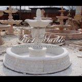 Fontana di marmo bianca di Carrara per il regalo Mf-804