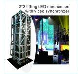Venta caliente que levanta la visualización de LED para la etapa en grande (YZ-P631)