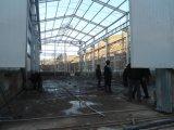 Costruzione strutturale d'acciaio prefabbricata della pianta di protezione contro la corrosione