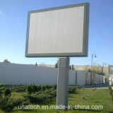 Cartelera rotatoria del rectángulo ligero del movimiento en sentido vertical de la publicidad al aire libre