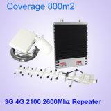 携帯電話のシグナルのブスターのためのデュアルバンドのブスターGSM 900/4G 2600MHzのシグナルの中継器