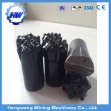 Cabeça mordida formão da broca de rocha da qualidade do carboneto de tungstênio do bit de tecla do bit transversal