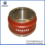 Scania 1414153の卸し売りIron Casting Brake Drum Compatible