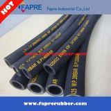 Hoge druk Wire Braided Hydraulic Rubber Hose SAE 100r16