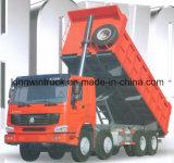 Tipo de HOWO 30 toneladas de 8X4 que conduz o caminhão de descarga