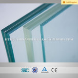 Polished Edge 6.38mm, 8.38mm, 12.38mm Laminated Glass