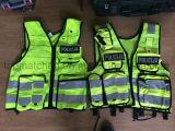 Veste reflexiva da segurança da polícia de trânsito da alta qualidade En471