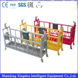 L'aluminium/acier a utilisé les plates-formes suspendues avec la bonne qualité