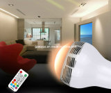 Timer APP Control를 가진 무선 Smart LED Light Bulb Mini Bluetooth Speaker