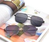 Новые продавая солнечные очки рамки металла фирменного наименования поляризовыванные способом (8063)