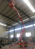 De hoge Aanhangwagen van de Lift 10m zette de Elektrische Gearticuleerde Lift van de Boom op