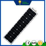 30W todo en una farola solar del panel del LED
