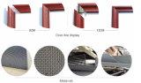 Ventana de madera de aluminio del precio barato de la buena calidad