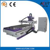 Hölzerner Fräser-pneumatische 4 Mittellinie CNC-Gravierfräsmaschine CNC-Acut-1325