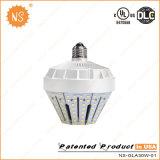 UL Dlc 360 grados E40 / E27 30W lámpara solar del jardín del LED