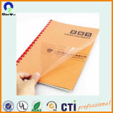 Stationery grade PVC rigide Feuille Reliure Couverture PVC Film
