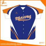 卸し売り習慣あなた自身のチーム摩耗の野球のTシャツジャージー
