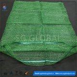 sacs à Raschel de PE de 25kg 30kg pour les pommes de terre de empaquetage d'oignons