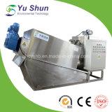 Machine de asséchage de cambouis autonettoyant pour le traitement des eaux résiduaires