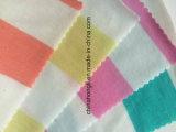 T/R/Sp 78/17/5 150GSM Garn gefärbter Streifen Jersey strickte Gewebe für Sport-Abnützung