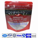 FDA de Zak van de Verpakking van het Voedsel met Resealable Ritssluiting