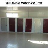 Porte intérieure bon marché en bois solide de la Chine