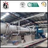Four tournant de four rotatoire pour la chaîne de production de charbon actif