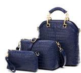 Sacchetto di cuoio del messaggero delle donne della borsa 3PCS/Set dell'unità di elaborazione delle donne