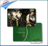 Tarjeta del PVC del precio de fábrica, tarjeta plástica, tarjeta inteligente, tarjeta del regalo, tarjeta de visita