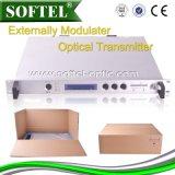 Optischer Sender des Agc-Oberseite-Entwurfs-(2fan 2 Stromversorgung) 1310nm 2-32MW CATV 1310nm