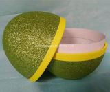 Rectángulo de regalo de empaquetado de papel Shaped del rectángulo del huevo de la pulpa