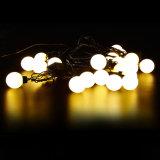 Indicatore luminoso impermeabile della stringa delle 6 di m. sfere rotonde LED di natale