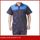 Uniforme funzionante del breve manicotto su ordine per estate (W249)